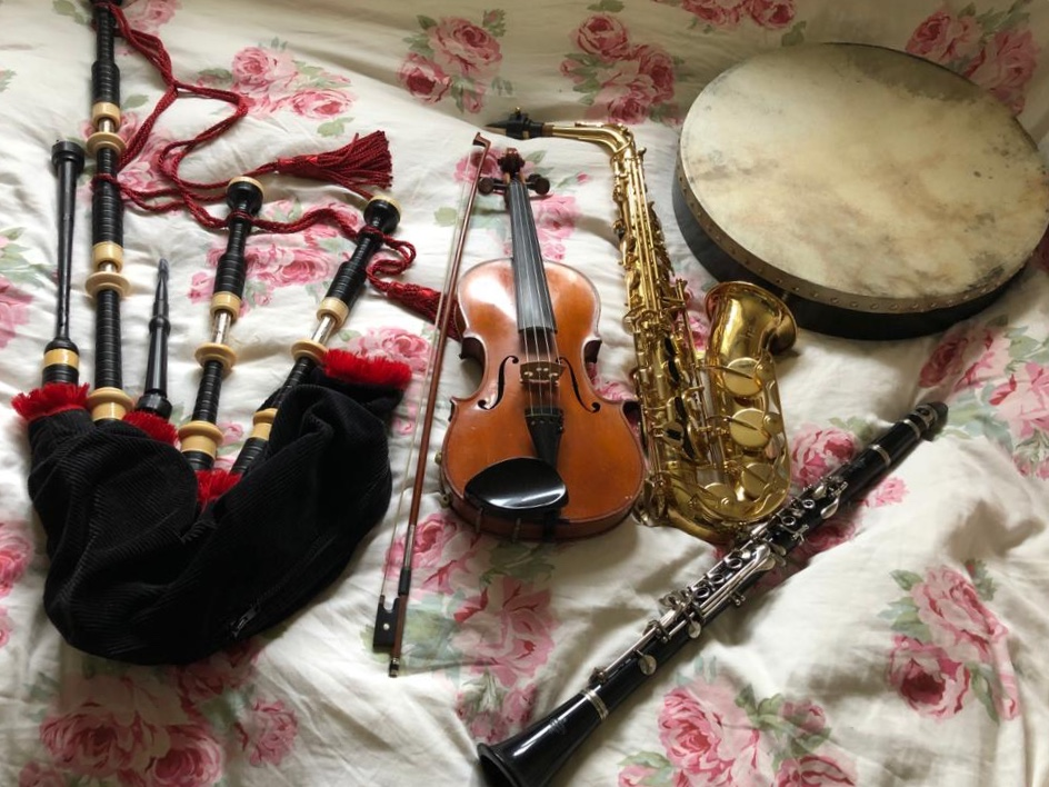 Bagpipes and other instruments